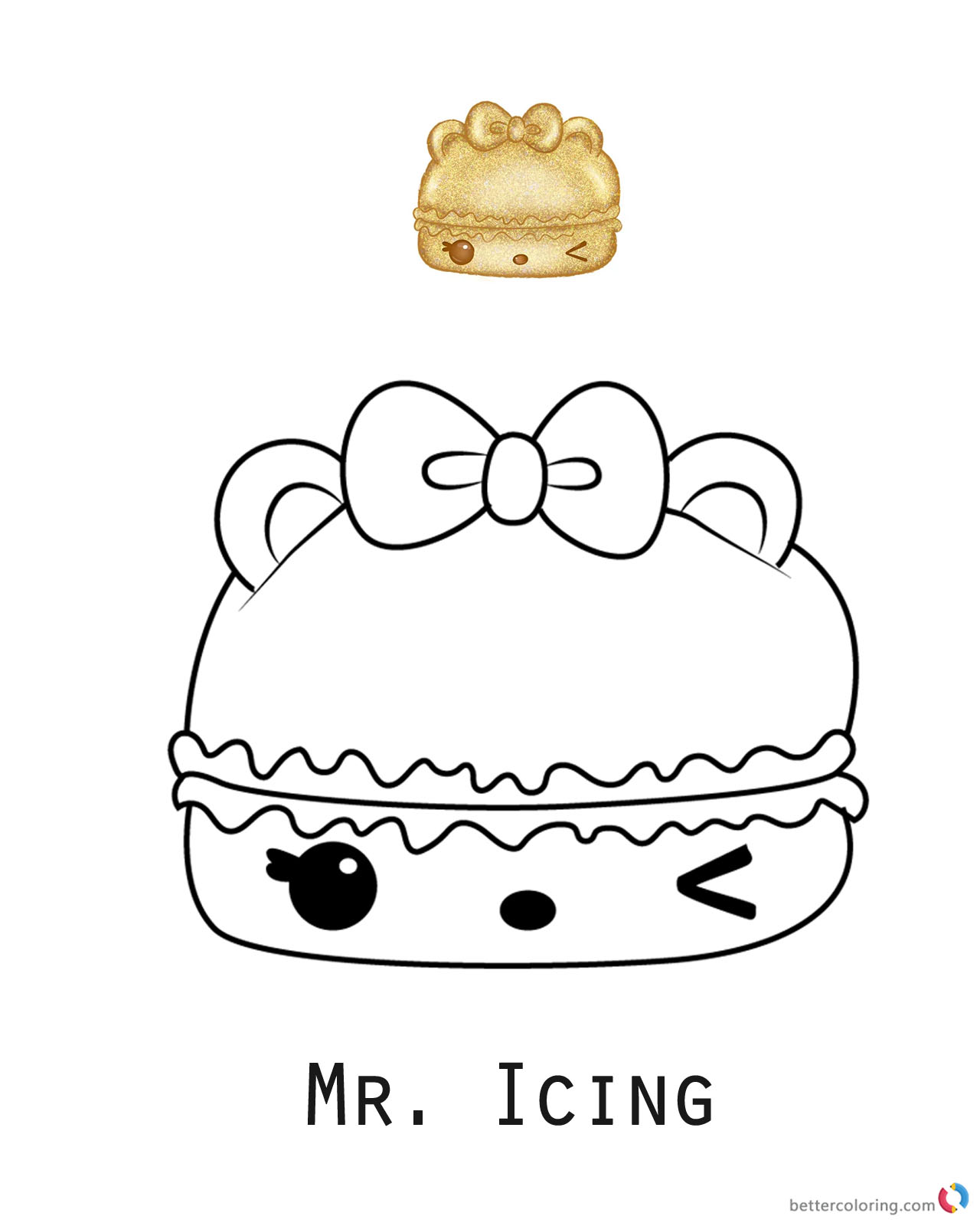 Mr icing num noms coloring pages series 2 free for Num noms coloring pages free