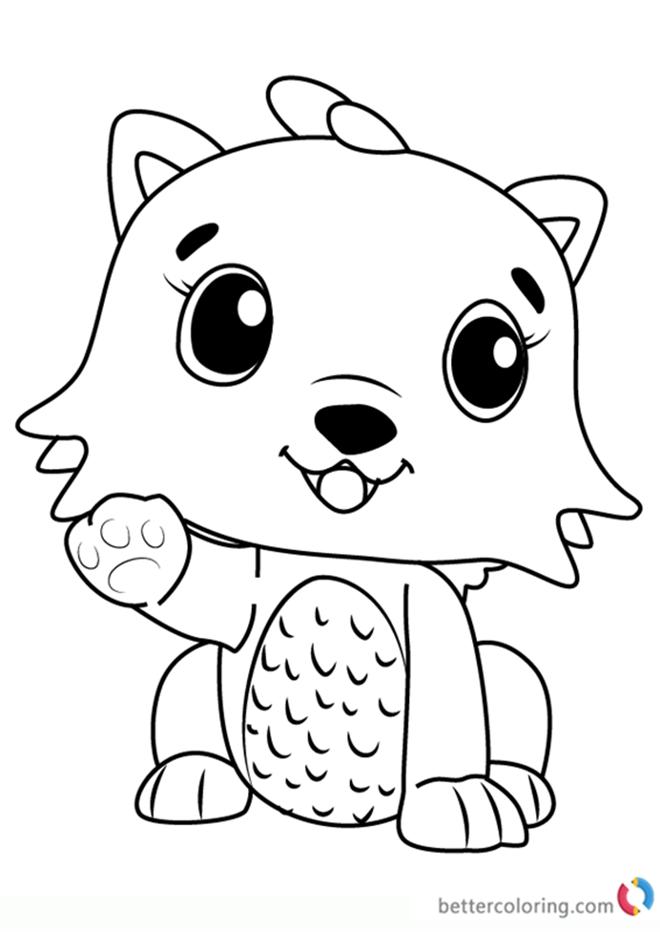 Hatchimals Who Will You Hatch Sketch