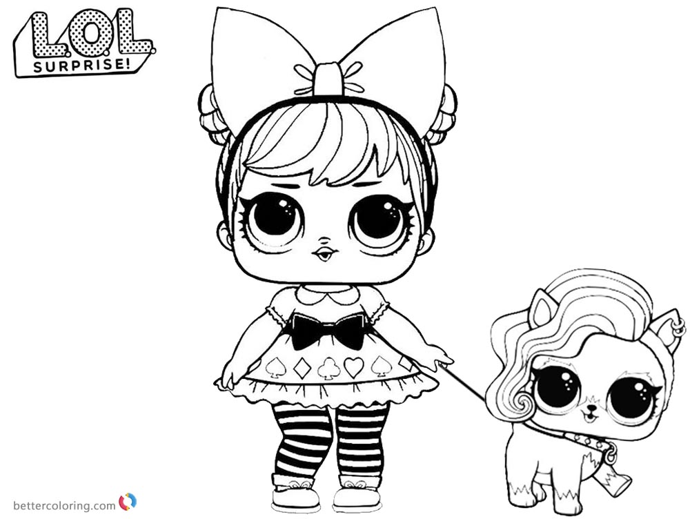 LOL Coloring Pages Curious Qt with