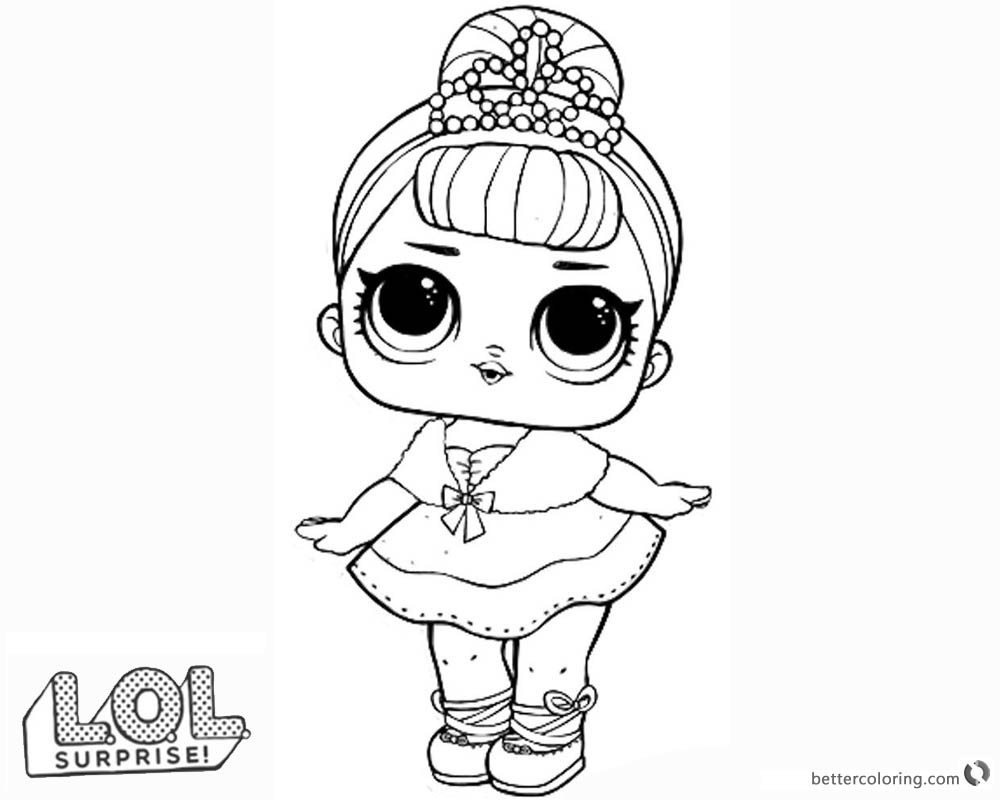 Jojo Doll Coloring Pages
