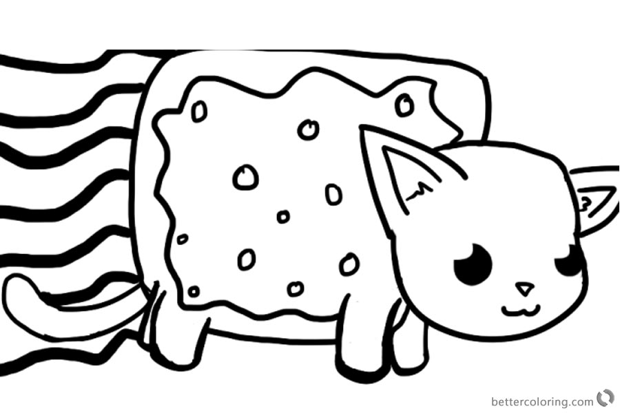 Pete The Cat Dragon Coloring Page