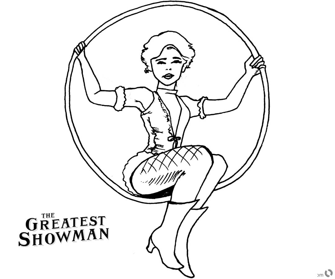 the greatest showman coloring pages | The Greatest Showman Coloring Pages Anne Wheeler Drawing ...