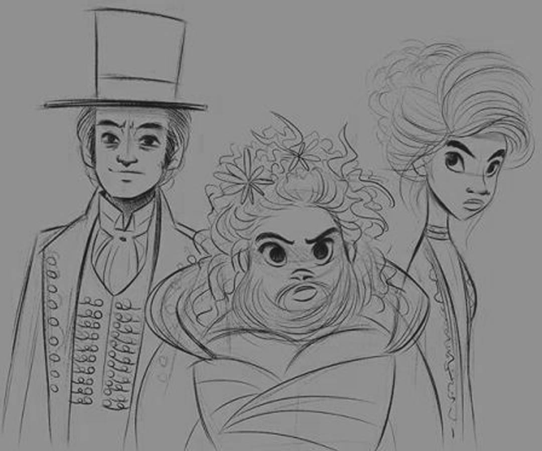 The Greatest Showman Coloring Pages Lettie Phillip And