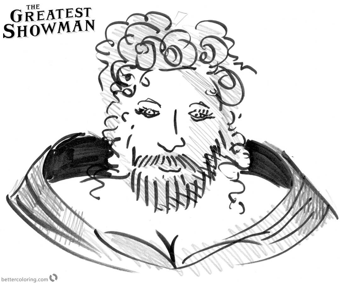 the greatest showman coloring pages | The Greatest Showman Coloring Pages This is Me - Free ...